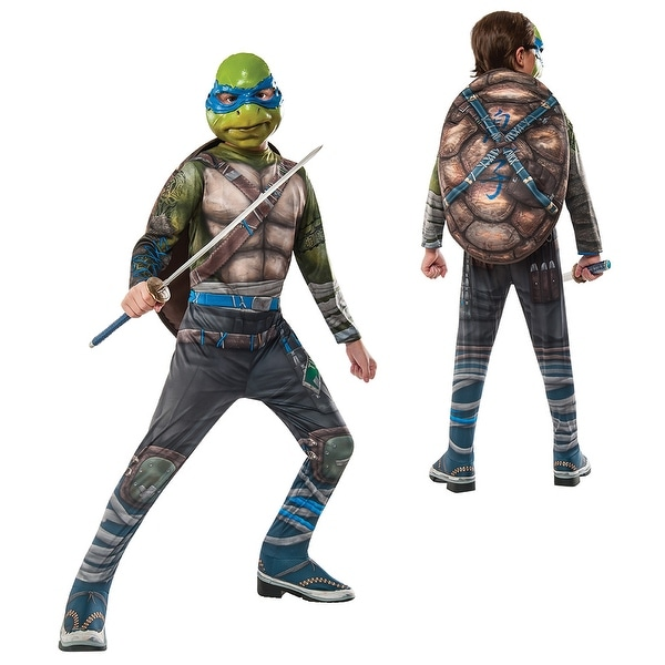 Boys TMNT Leonardo Out of the Shadows Costume