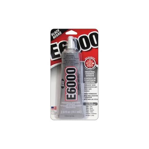 Eclectic E6000 Adhesive 2oz Card Black