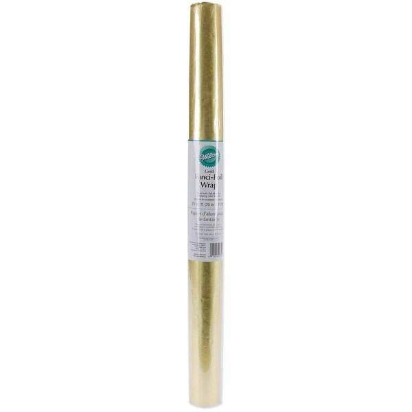 """Fanci-Foil Wrap 20""""X15'-Gold - GOLD"""