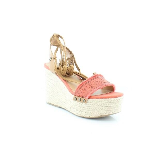 Tommy Hilfiger Lovelle Women's Sandals & Flip Flops Orange Multi - 7.5