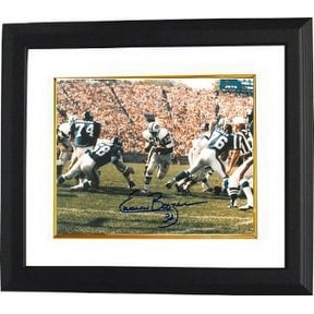fe6fdaef047 Shop Emerson Boozer signed New York Jets Color 8x10 Photo Custom Framed -  Free Shipping Today - Overstock - 19870997