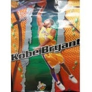 Signed Bryant Kobe Los Angeles Lakers 26x19 Poster Kinks and Damage on Poster autographed