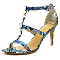 Thalia Sodi Playa Women  Open Toe Synthetic Blue Sandals