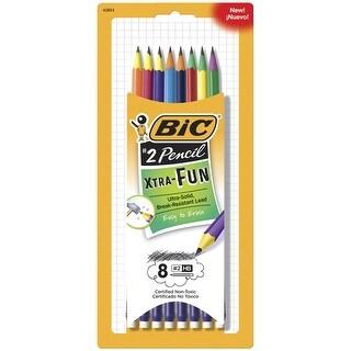 BIC #2 Xtra Fun Pencils, Pack of 8