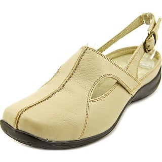 Easy Street Sportster Women W Round Toe Synthetic Ivory Mules