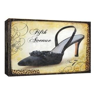 """PTM Images 9-154000  PTM Canvas Collection 8"""" x 10"""" - """"La Parisienne II"""" Giclee Shoes Art Print on Canvas"""