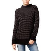 Sanctuary Womens Mason Pullover Sweater Knit Striped