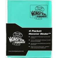 Monster Binders 4PTEA Binder 4 Pocket Monster - Matte Teal