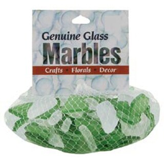 Green & Frost - Genuine Glass Gems 1Lb