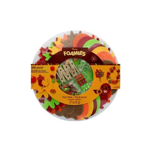 Darice Foamies Kit Thanksgiving Party Platter