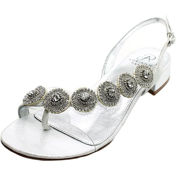 Adrianna Papell Daisy Silver Sandals
