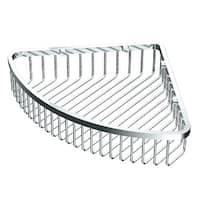 Gatco 1570 12 Inch Corner Shower Basket