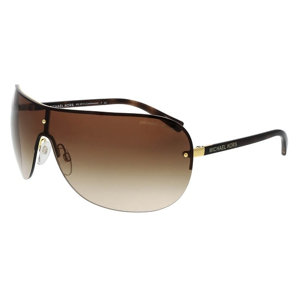 Michael Kors MK5010 CASTLEWOOD 104413 Gold Single Lens Sunglasses
