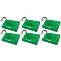 Replacement VTech i6777 / i6787 NiMH Cordless Phone Battery - 600mAh / 3.6V (6 Pack)