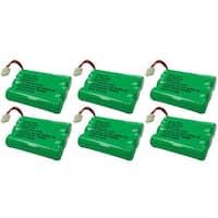 Replacement VTech mi6897 / i6725 NiMH Cordless Phone Battery - 600mAh / 3.6V (6 Pack)
