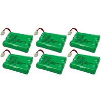 Replacement VTech i6763 / mi6821 NiMH Cordless Phone Battery - 600mAh / 3.6V (6 Pack)