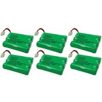 Replacement VTech i6788 / mi6885 NiMH Cordless Phone Battery - 600mAh / 3.6V (6 Pack)