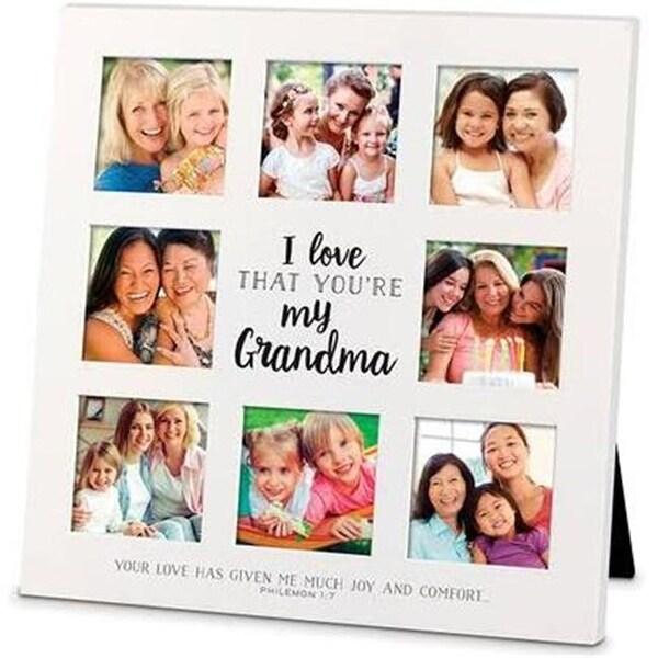 Shop Lighthouse Christian Products MDF-I Love That-Grandma Frame ...
