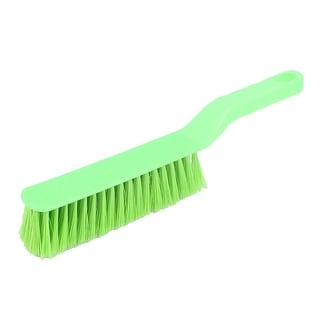 12 Inch Long Green Plastic Bed Carpet Chair Dust Cleaner Tool Cleaning Brush