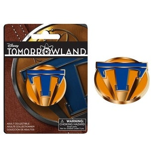 Disney's Tomorrowland Metal Lapel Pin Style 1 - multi