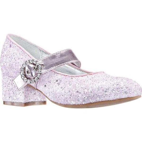 Shop Nina Girls  Dulce Mary Jane Pink Chunky Glitter Synthetic ... 98f09875bce2
