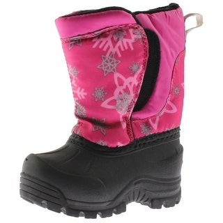 Northside Girls Snoqualmie Snow Boots Printed Faux Fur Lined - 5 medium (b,m) toddler