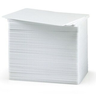 Fargo 081754 Ultracard Pvc Card 30 Mil, 500 Cards/Box