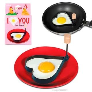 """I Love You"" Heart Egg Shaper"