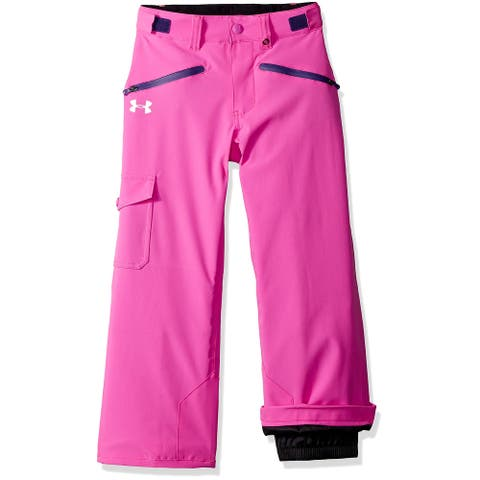 Under Armour Girls Pants Pink Size XL Insulated Gold-Gear Water-Repel