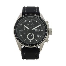 Fossil Ch2573p Decker Chronograph Black Silicone Watch Watch For Men