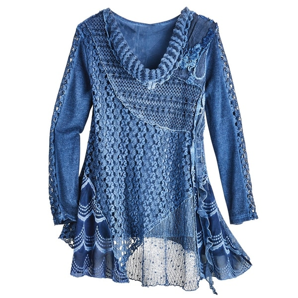 An Own Goal And Glaring Misses: Knitted Lace Over Stretchy Tank