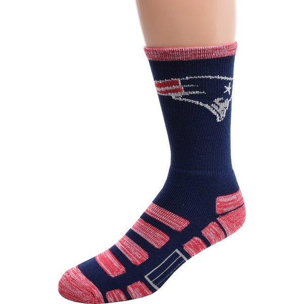 For Bare Feet New England Patriots Patches Socks