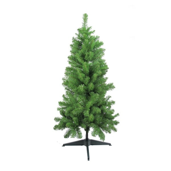 "4' x 25"" Traditional Noble Fir Medium Artificial Christmas Tree - Unlit"