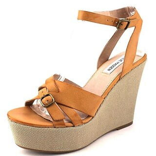 Steve Madden Twizter Open Toe Synthetic Wedge Sandal