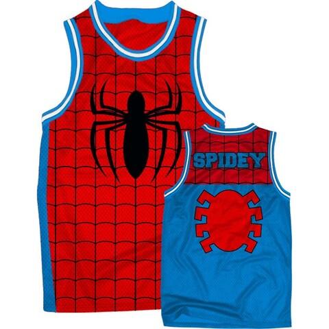 Spiderman Spidey Men's Red/Blue Jersey