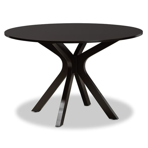 Kenji Modern And Contemporary 48 Inch Wide Round Dining Table On Sale Overstock 31302750