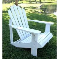 Shine Co 4611WT 28.25 x 35 x 36 Inch Westport Adirondack Chair - Standard - White