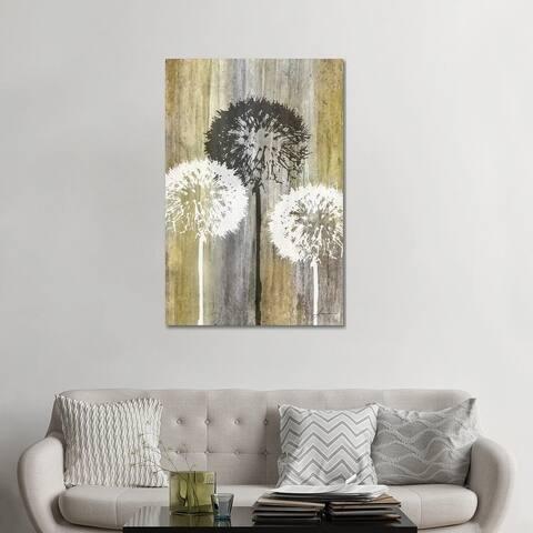 """iCanvas """"Rustic Garden II"""" by James Burghardt Canvas Print"""