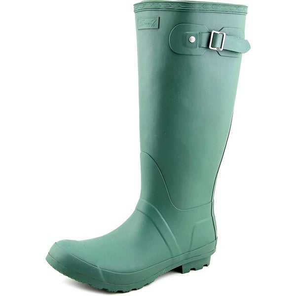 Seven7 British Storm Women  Round Toe Synthetic  Rain Boot