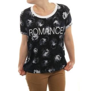 Sandro Short Sleeve Crew Neck T-Shirt Women Regular T-Shirt