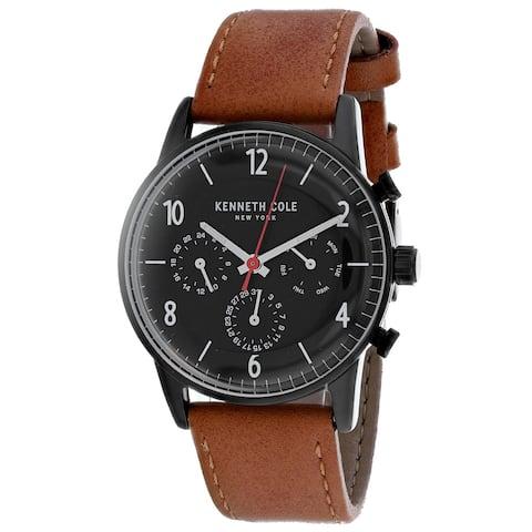 Kenneth Cole Men's Dress Sport Black Dial Watch - KC50953003