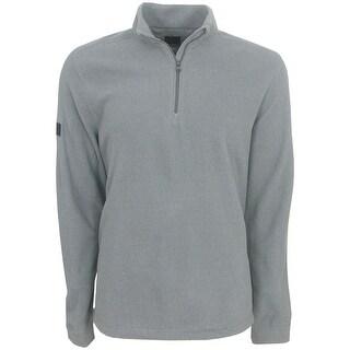 Greg Norman Mock 1/4 Zip Fleece Pullover