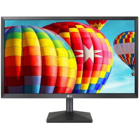 "LG 24MK400H-B 1080p 23.8"" TN LCD FreeSync Monitor,Black"