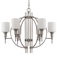 Craftmade 37226 Meridian 6 Light Chandelier - 28 Inches Wide