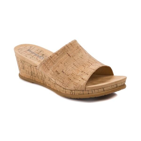 Baretraps Fergy Women's Sandals & Flip Flops Natural Cork