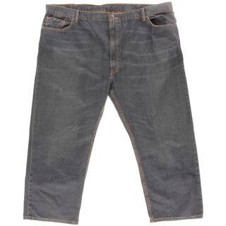 Levi Strauss & Co. Mens Big & Tall 559 Straight Leg Jeans Denim Dark Wash|https://ak1.ostkcdn.com/images/products/is/images/direct/b37697d2d069a9076f693fff7aaa8d33b509c5cb/Levi-Strauss-%26-Co.-Mens-Big-%26-Tall-559-Straight-Leg-Jeans-Denim-Dark-Wash.jpg?impolicy=medium