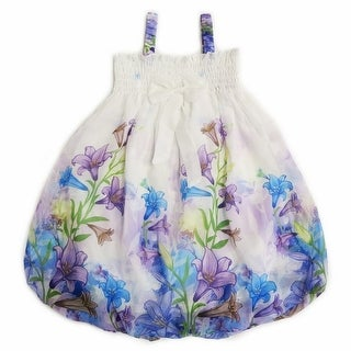 Link to Wenchoice Little Girls White Lily Straps Bow Chiffon Baby Doll Dress Similar Items in Shirts