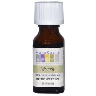 Aura Cacia Essential Oil Myrrh 0.5-ounce