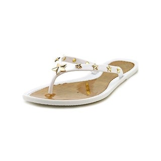 Marc Fisher Omaja Open Toe Synthetic Flip Flop Sandal
