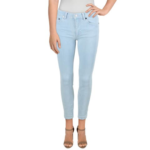 French Connection Womens Rebound Skinny Jeans High Rise Denim - Sunbleach - 0